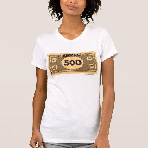 500 Dollar Bill Tshirt