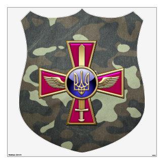 [500] Emblema ucraniano de la fuerza aérea Vinilo Adhesivo