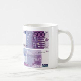 500 Euro Banknote Coffee Mug