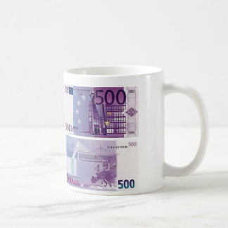 500 Euro Banknote Classic White Coffee Mug