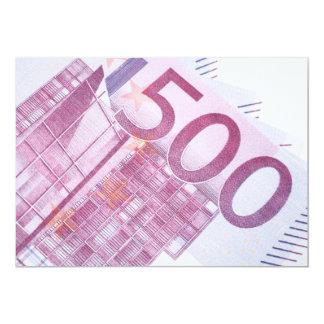 500 Euros Card