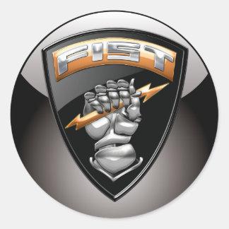 [500] Forward Observer (FIST) [Emblem] Classic Round Sticker