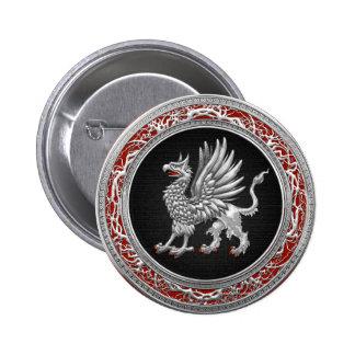 [500] Grifo de plata sagrado Pins