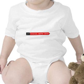 500 - Internal Server Error Baby Bodysuits