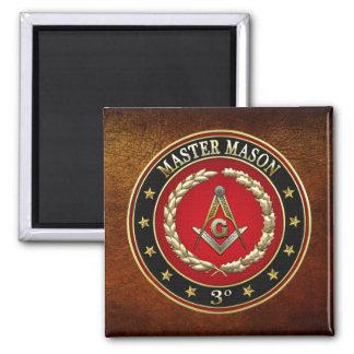 500 Master Mason 3rd Degree Special Edition Fridge Magnet