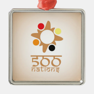 500 Nations Metal Ornament