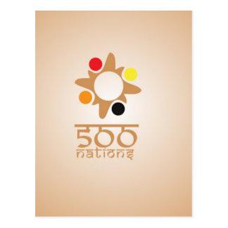 500 Nations Postcard