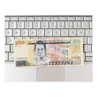 500 Peso Bill (2) Postal