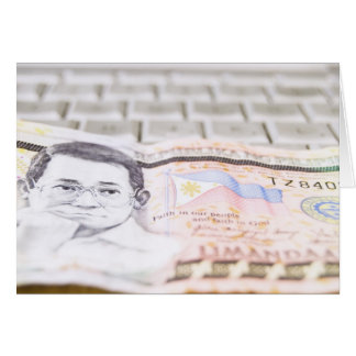 500 Peso Bill Card