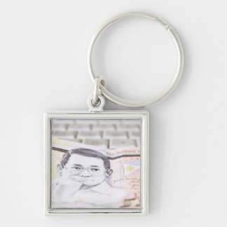 500 Peso Bill Keychain