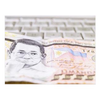 500 Peso Bill Postcard