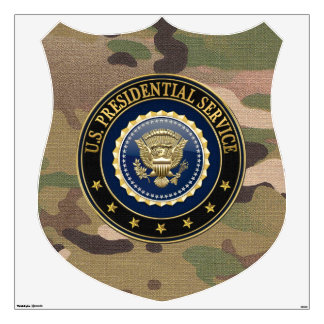 [500] Presidential Service Badge [PSB] Special Ed Wall Decal