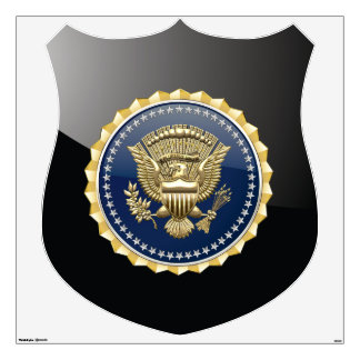 [500] Presidential Service Badge [PSB] Wall Sticker