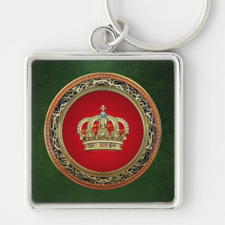 [500] Prince-Princess King-Queen Crown [Belg.Gold] Keychain