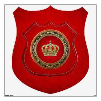 [500] Príncipe-Princesa Rey-Reina Crown [Belg.Gold