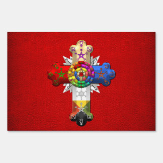 [500] Rosy Cross (Rose Croix) Sign