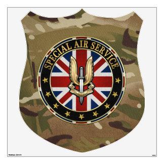 [500] Special Air Service (SAS) Badge [3D] Wall Sticker
