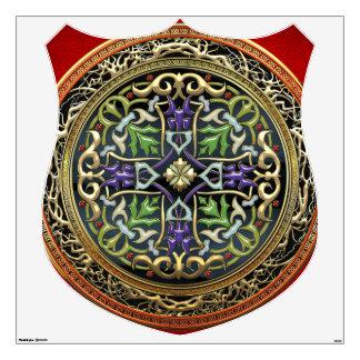 [500] Treasure Trove: Celtic Cross Wall Decal