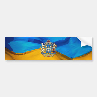 [500] Ukraine: Proposed Greater Coat of Arms Car Bumper Sticker