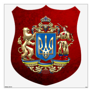 [500] Ukraine: Proposed Greater Coat of Arms Wall Decal