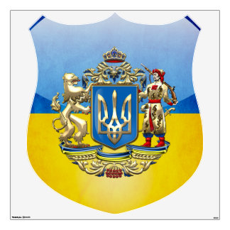 [500] Ukraine: Proposed Greater Coat of Arms Wall Sticker