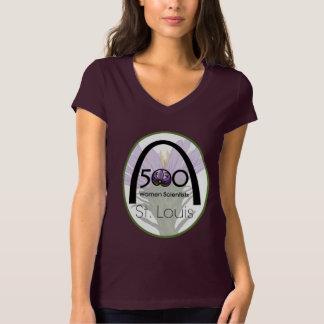 500 Women Scientists St. Louis large logo T-Shirt