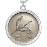 500 won coin Korean necklace