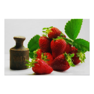 500g strawberries posters