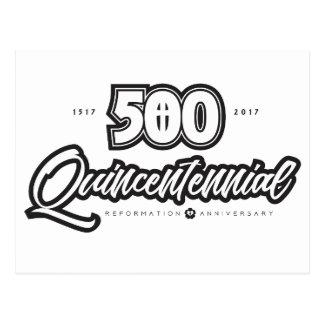 500th Anniversary Postcard