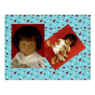 501-4 Sasha baby Girl Nightdress postcard