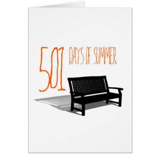 501 Days Of Summer Card