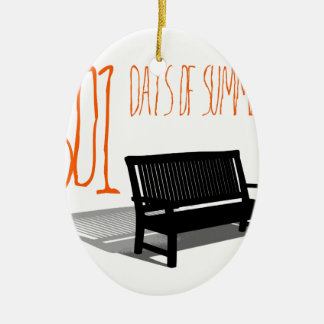 501 Days Of Summer Ceramic Ornament