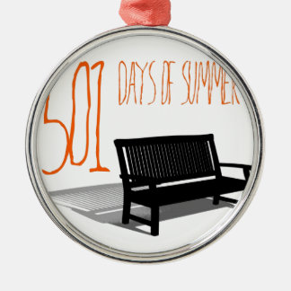 501 Days Of Summer Metal Ornament