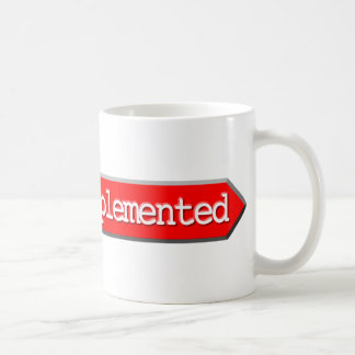 501 - Not Implemented Coffee Mugs