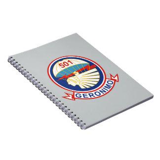 501st Parachute Infantry Regiment Notebook