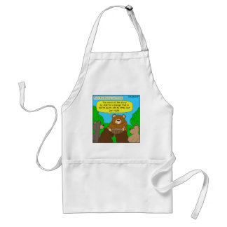 502 fundraising ask just the right way cartoon adult apron