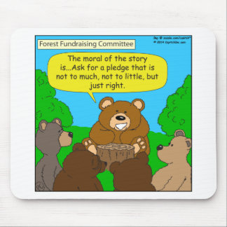 502 fundraising ask just the right way cartoon mouse pad