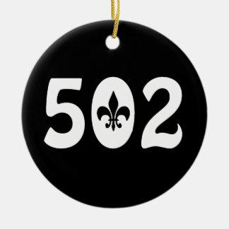 502 CHRISTMAS ORNAMENTS