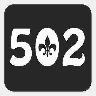 502 PEGATINA CUADRADA
