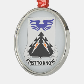 502nd Aviation Regiment - First To Know Metal Ornament