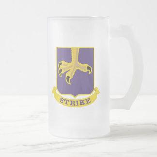502nd Infantry Regiment - 101st Airborne Division Frosted Glass Beer Mug