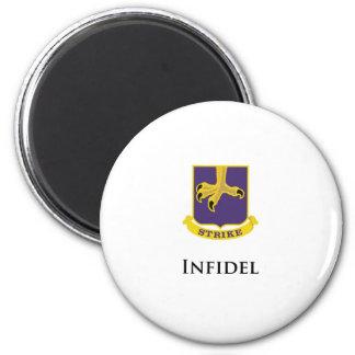 502nd PIR- Infidel 2 Inch Round Magnet