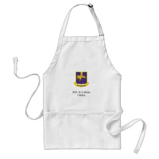 502nd-PLF- It's How I Roll Adult Apron