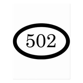 502o Aerotransportado Tarjeta Postal