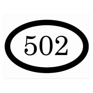502o Aerotransportado Tarjetas Postales