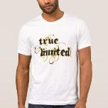 502TRUE LIMITADO VERDADERO del personalizado T Camisetas