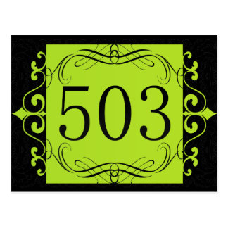 503 Area Code Post Cards