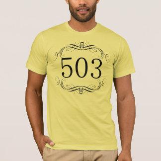 503 Area Code T-Shirt