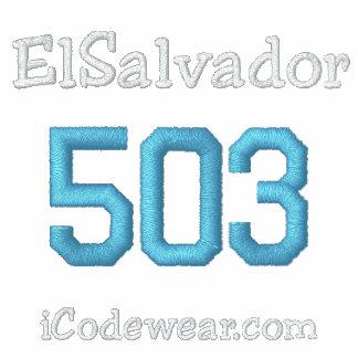 503 El Salvador Sudadera Con Capucha