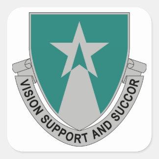 503rd Aviation Battalion Square Sticker